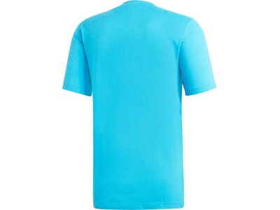 ADIDAS Herren T-Shirt Essentials 3-Streifen Blau