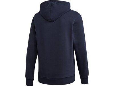 ADIDAS Herren Essentials 3-Streifen Hoodie Blau