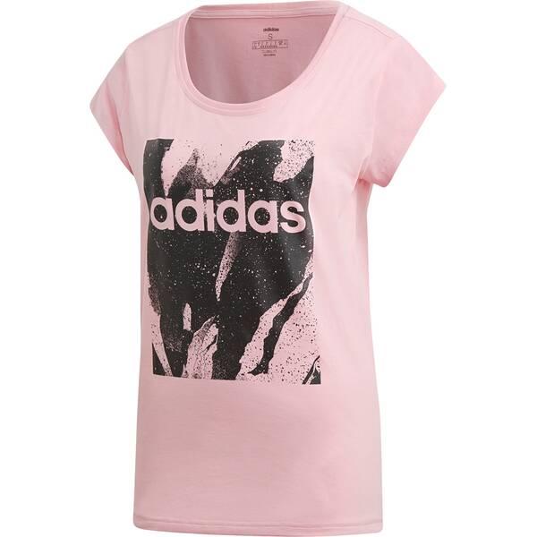 ADIDAS Damen Essentials Printed T-Shirt