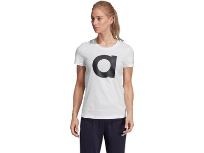 ADIDAS Damen T-Shirt Essentials Silber