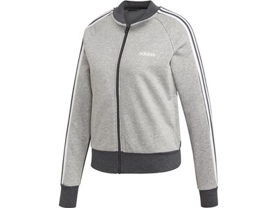 ADIDAS Damen Essentials Seasonal Bomberjacke Silber