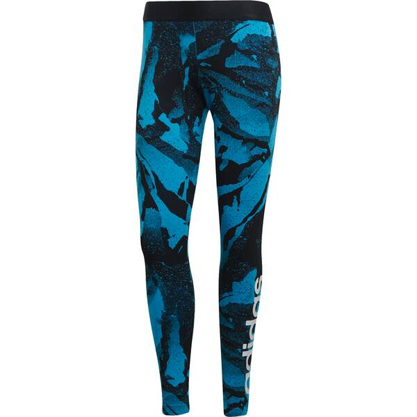 ADIDAS Damen Essentials Season Allover Print Tight