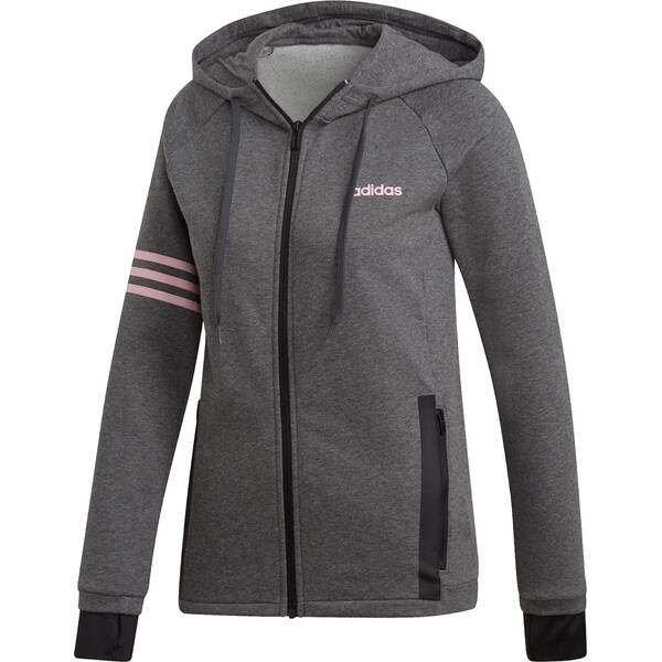 ADIDAS Damen Essentials Motion Pack Kapuzenjacke