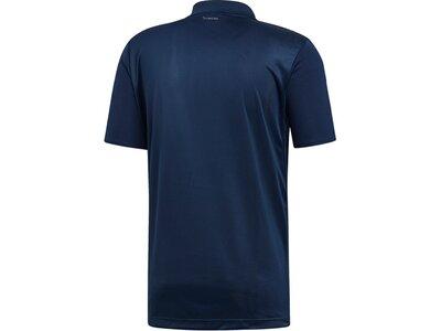 ADIDAS Herren Polo CLUB 3STR Blau