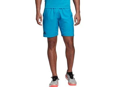 ADIDAS Herren Club 3-Streifen 9-Inch Shorts Braun