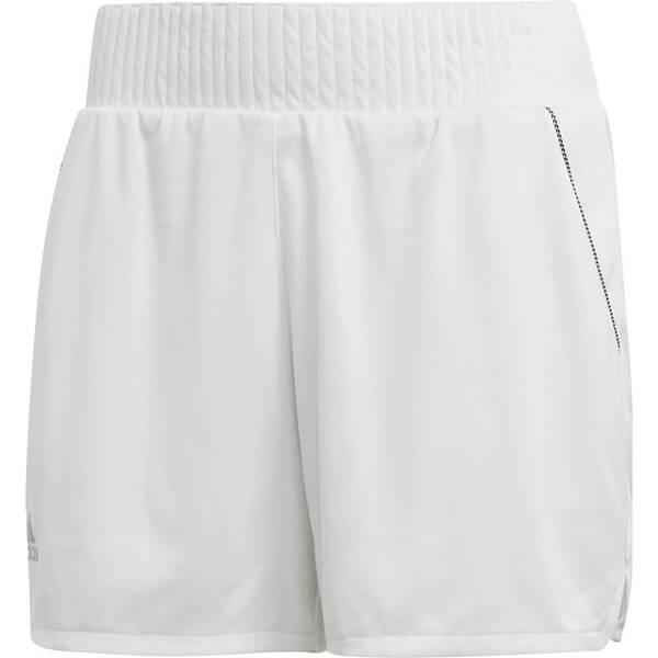 Hosen - ADIDAS Damen Club High Rise Shorts › Grau  - Onlineshop Intersport