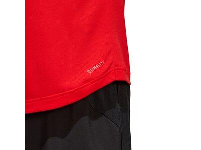 ADIDAS Herren T-Shirt Design 2 Move 3-Streifen Schwarz