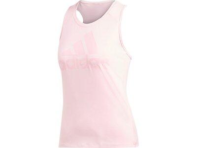 ADIDAS Damen Tanktop Logo Pink