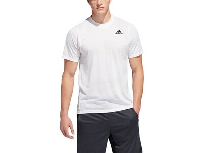 ADIDAS Herren T-Shirt FreeLift Tech Aeroknit Graphic Grau