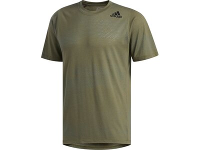ADIDAS Herren T-Shirt FreeLift Tech Aeroknit Graphic Braun