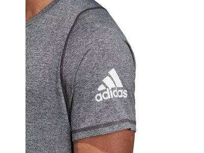 ADIDAS Herren T-Shirt FreeLift Sport Ultimate Heather Grau