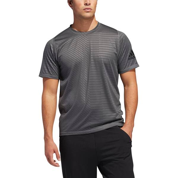 ADIDAS Herren FreeLift Sport Ultimate Embossed T-Shirt