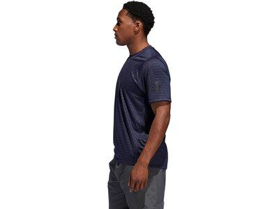 ADIDAS Herren T-Shirt FreeLift Sport Ultimate Embossed Blau