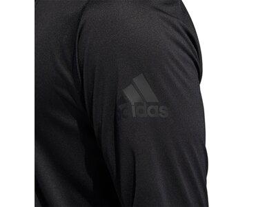 ADIDAS Herren Shirt FL_SPR X ZIP 14 Schwarz