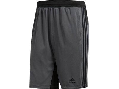 ADIDAS Herren 4KRFT Sport 3-Streifen Shorts Grau