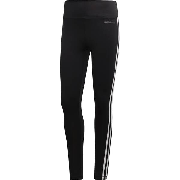 ADIDAS Damen Design 2 Move 3-Streifen High-Rise lange Tight