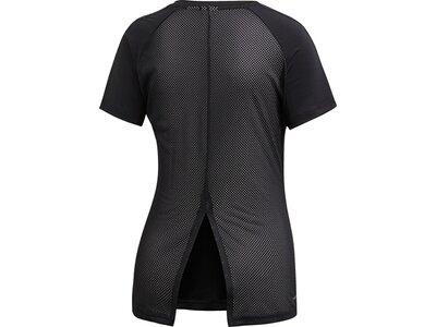 ADIDAS Damen T-Shirt Design 2 Move 3-Streifen Schwarz
