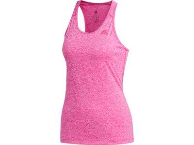 ADIDAS Damen Tanktop Tech Prime 3-Streifen Pink
