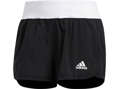 ADIDAS Damen Two-in-One Mesh Shorts Schwarz