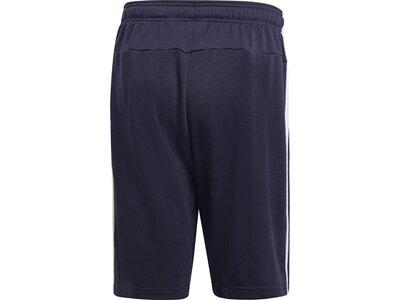 ADIDAS Herren Essentials 3-Streifen French Terry Shorts Blau