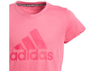 ADIDAS Kinder T-Shirt Must Haves Badge of Sport Pink