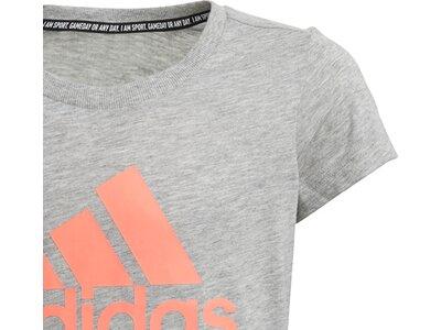 ADIDAS Kinder T-Shirt Must Haves Badge of Sport Grau