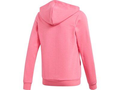 ADIDAS Kinder Essentials Linear Kapuzenjacke Pink