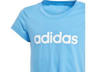 ADIDAS Kinder T-Shirt Essentials Linear Blau