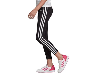 ADIDAS Kinder Essentials 3-Streifen Tight Schwarz