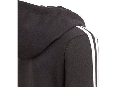 ADIDAS Kinder Essentials 3-Streifen Kapuzenjacke Grau
