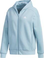 ADIDAS Damen Sport 2 Street Knit Kapuzenjacke