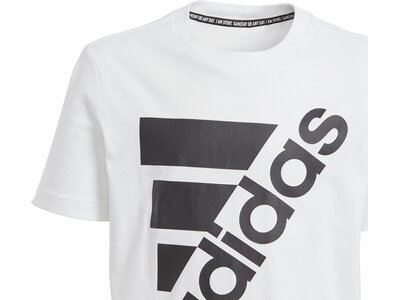 ADIDAS Kinder T-Shirt Must Haves Badge of Sport Weiß