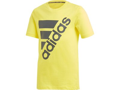 ADIDAS Kinder T-Shirt Must Haves Badge of Sport Gelb