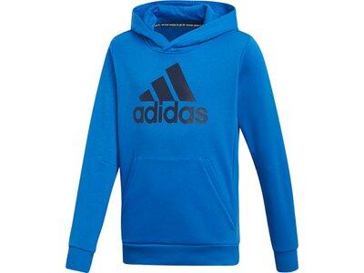 """ADIDAS Jungen Sweatshirt """"BOS Hoodie"""" Blau"""