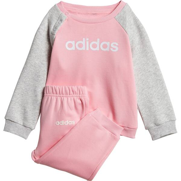 ADIDAS Kinder Linear Fleece Jogginganzug