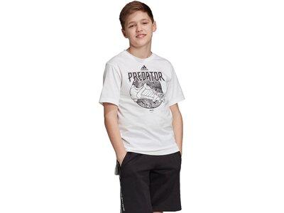 ADIDAS Kinder T-Shirt Predator Urban Silber