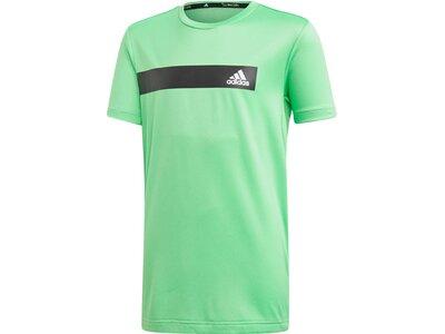 ADIDAS Kinder T-Shirt Train Cool Grün