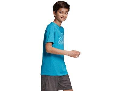 ADIDAS Kinder Shirt Climachill Blau