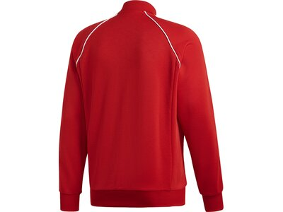 ADIDAS Herren SST Originals Jacke Rot