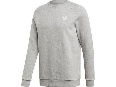 ADIDAS Herren Essentials Sweatshirt Silber