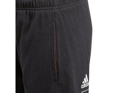 ADIDAS Kinder Athletics Sport ID Shorts Schwarz