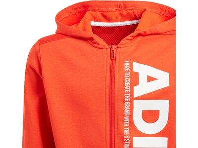 ADIDAS Kinder Sport ID Branded Kapuzenjacke Rot
