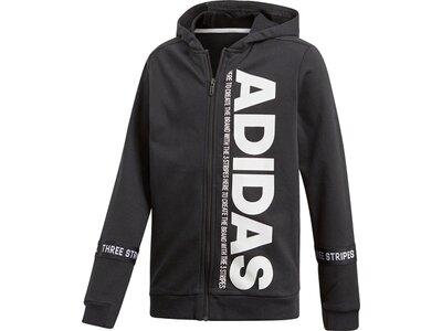 ADIDAS Kinder Sport ID Branded Kapuzenjacke Schwarz