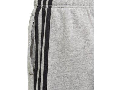 ADIDAS Kinder Essentials 3-Streifen Knit Shorts Silber