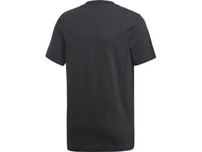 ADIDAS Kinder T-Shirt Essentials 3-Streifen Grau