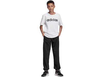 ADIDAS Kinder Essentials Linear Hose Schwarz