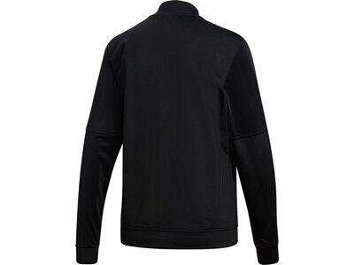 ADIDAS Damen Back 2 Basics 3-Streifen Trainingsanzug Schwarz
