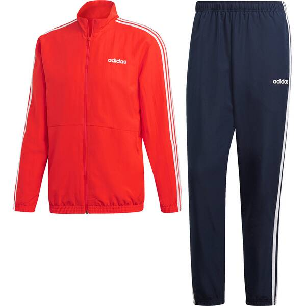 ADIDAS Herren 3-Streifen Woven Cuffed Trainingsanzug | Sportbekleidung > Sportanzüge > Trainingsanzüge | ADIDAS