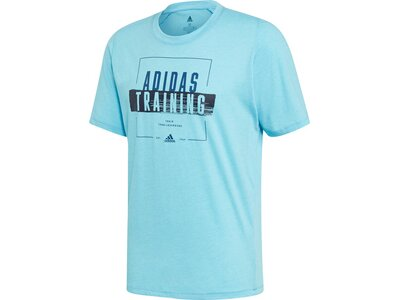ADIDAS Herren T-Shirt FreeLift 360 Graphic Blau