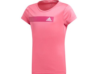 ADIDAS Kinder T-Shirt Training Cool Pink
